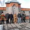 Митинг у мемориала Памяти погибшим в Афганистане и Чечне