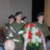 Возложение венков к мемориалу Памяти погибшим в Афганистане и Чечне