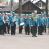 Выступление духового оркестра